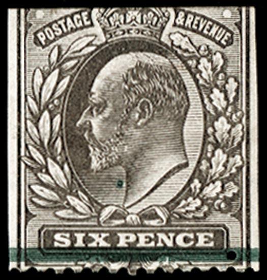 GB 1902  SG245var Mint