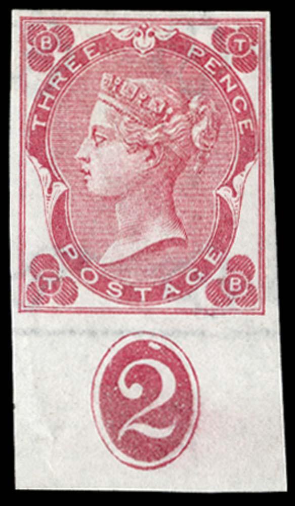 GB 1862  SG76var Pl.2 Mint
