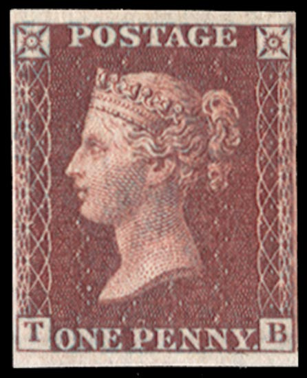 GB 1856  SG42var Pl.50 Mint