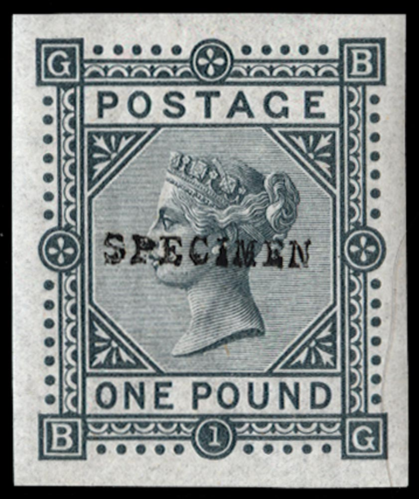 GB 1878  SG129var Pl.1 Mint