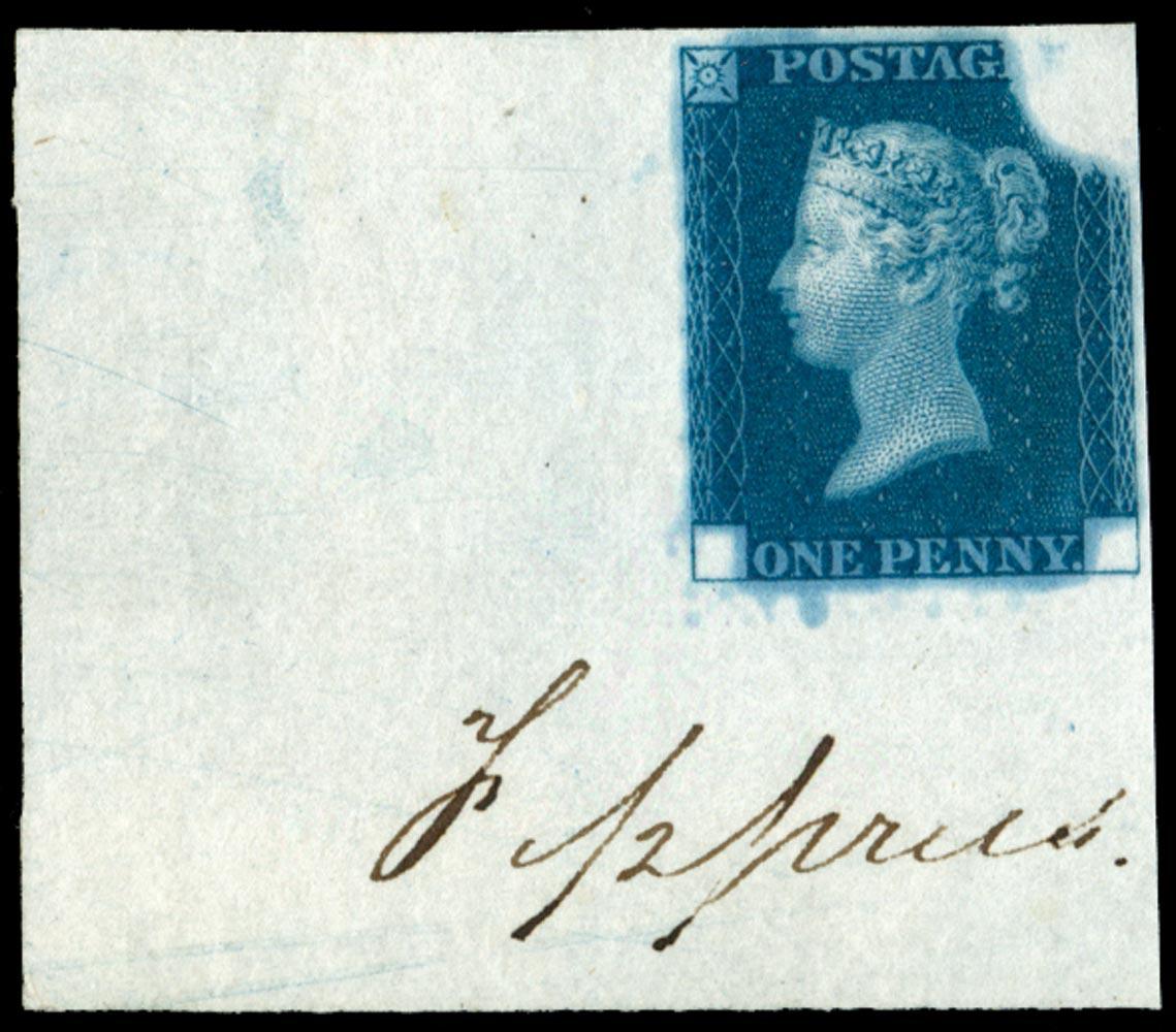 GB 1840  SGDP20(3)a Mint