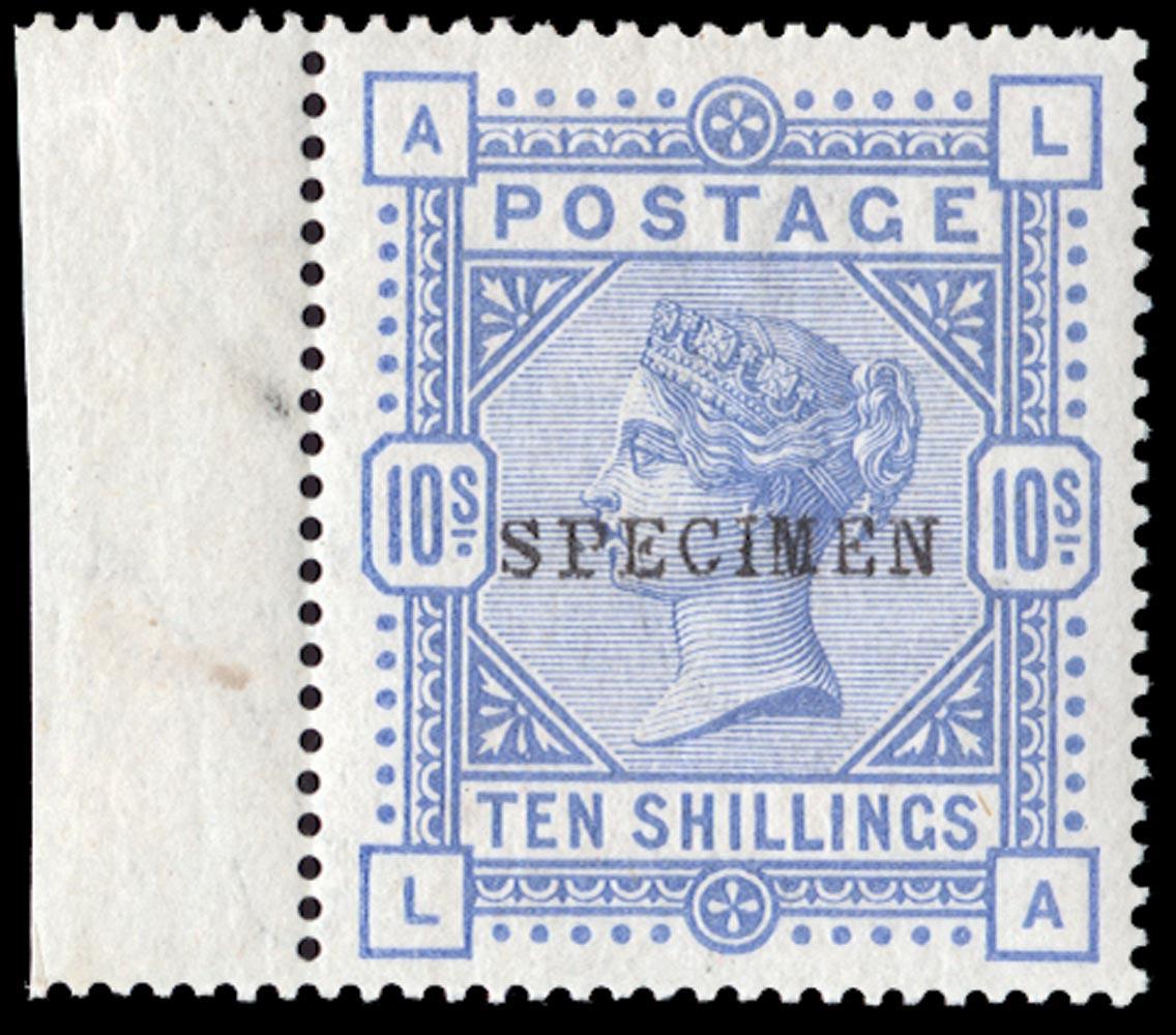 GB 1884  SG182s Specimen