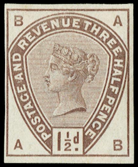 GB 1884  SG188var Mint