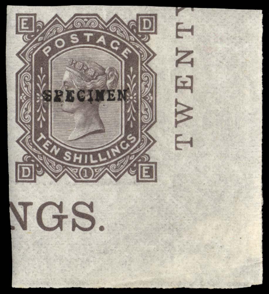 GB 1878  SG128var Mint