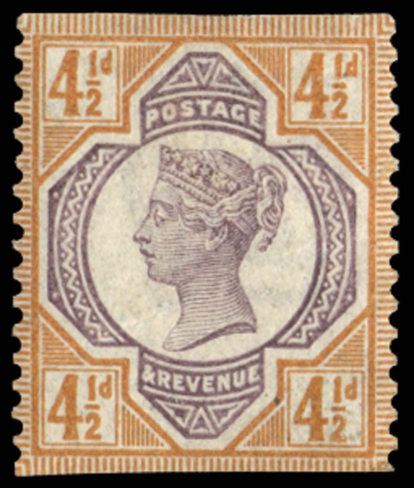 GB 1899  SG206var Mint