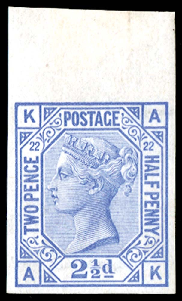 GB 1881  SG157var Pl.22 Mint
