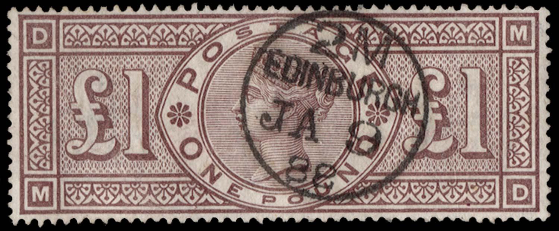 GB 1884  SG185 Used
