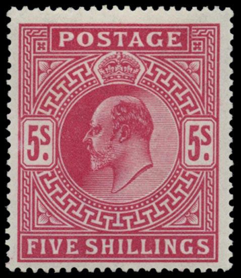 GB 1902  SG263 Mint