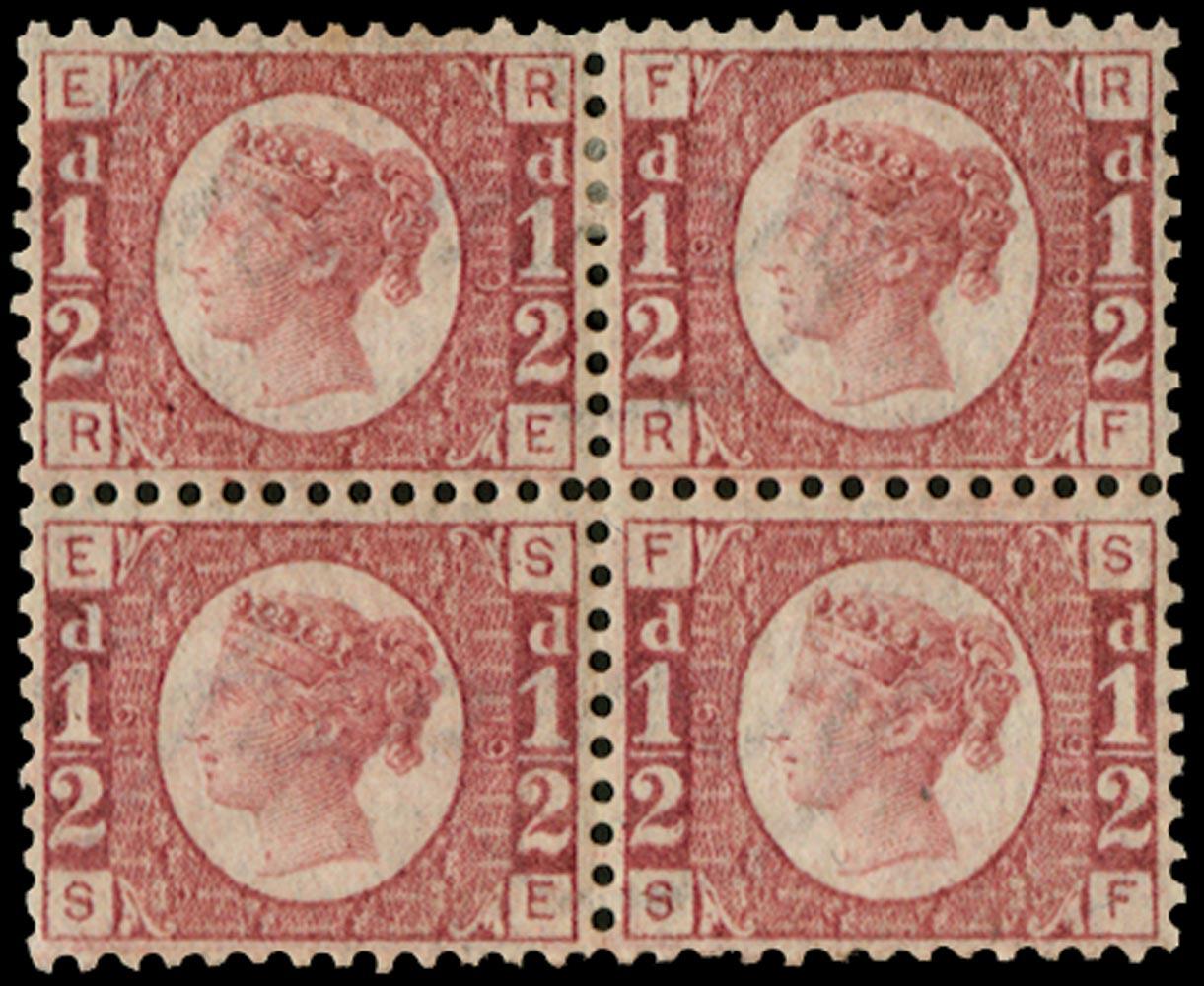 GB 1870  SG48 Pl.19 Mint