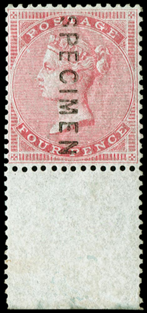 GB 1856  SG63s Specimen type 2