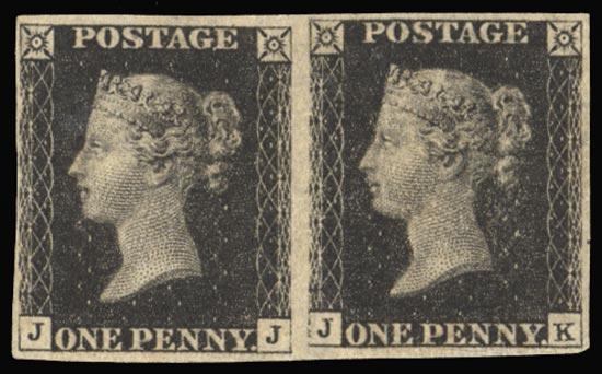 GB 1840  SG2 Pl.5 Penny Black