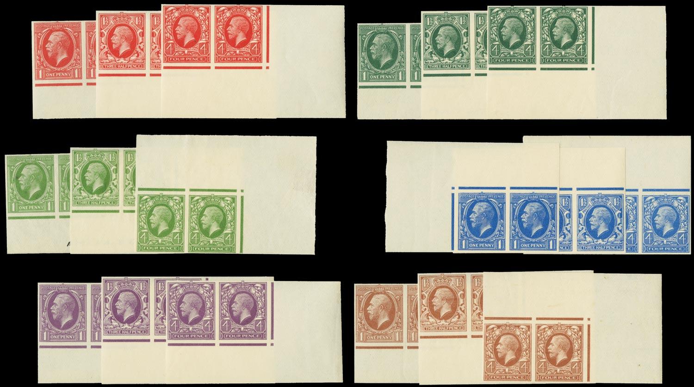 GB 1934  SG440/5 Mint