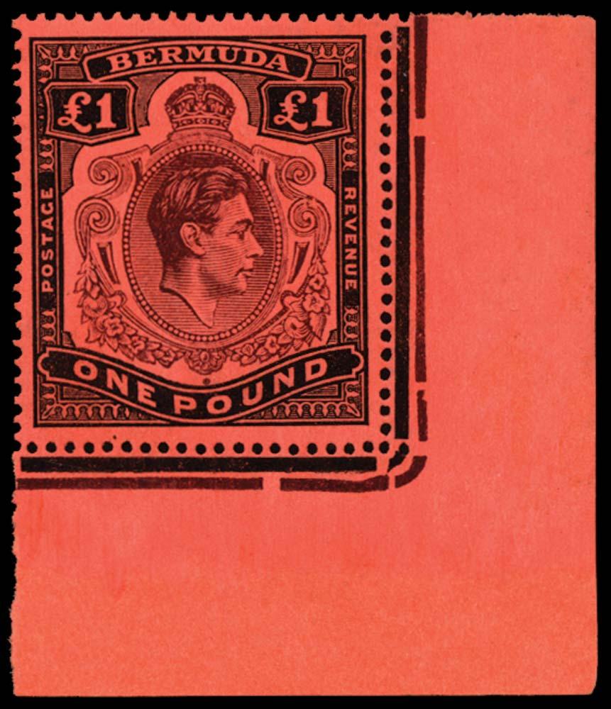 BERMUDA 1938  SG121be Mint
