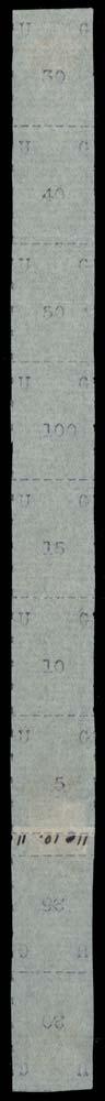 UGANDA 1895  SG35/43 Mint