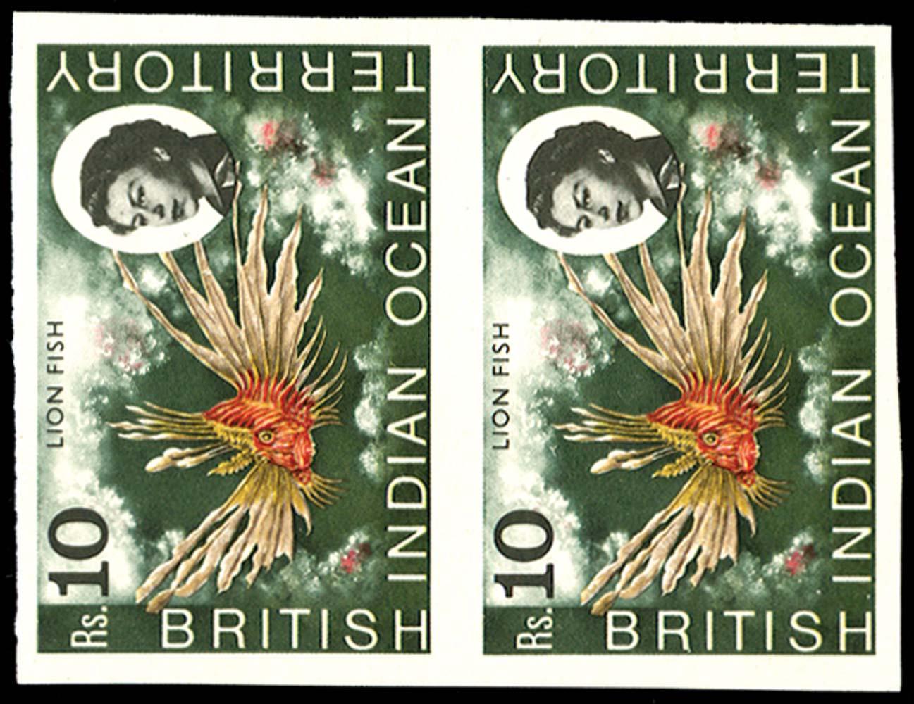 BRITISH INDIAN OCEAN 1968  SG30a Mint