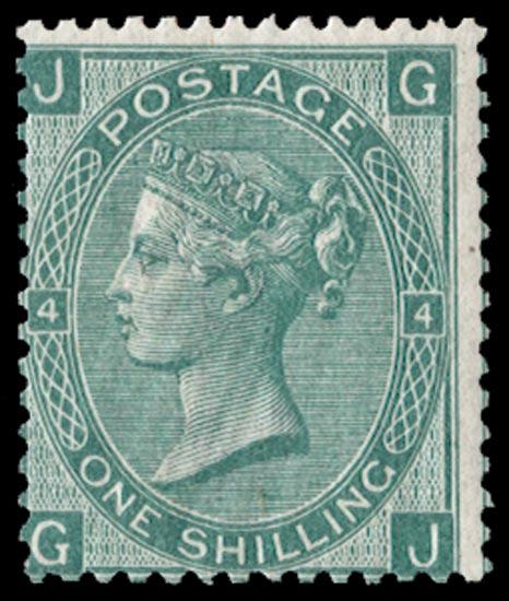 GB 1871  SG115 Pl.4 Mint