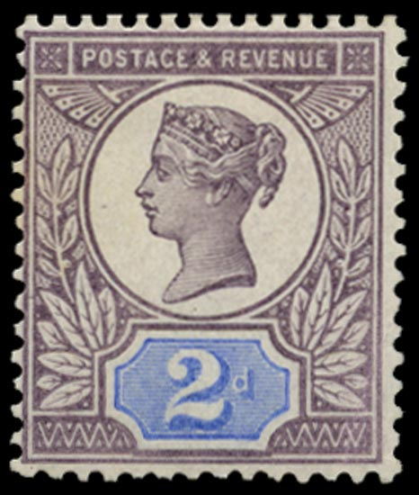 GB 1899  SG200var Mint