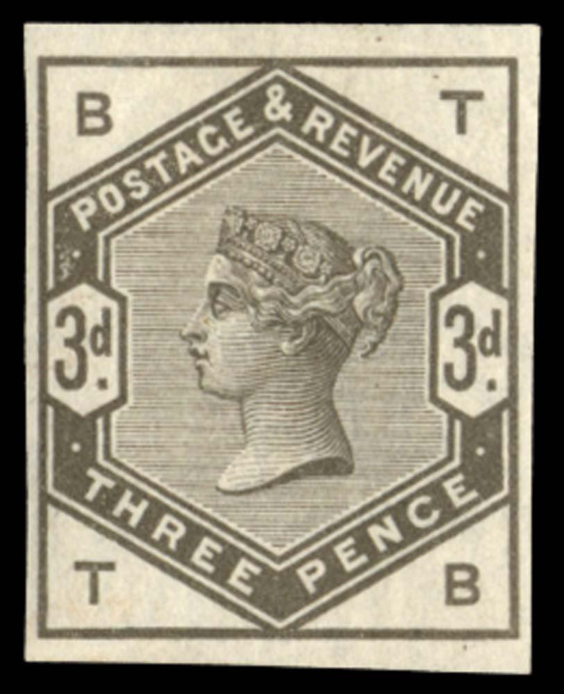 GB 1883  SG191var Mint