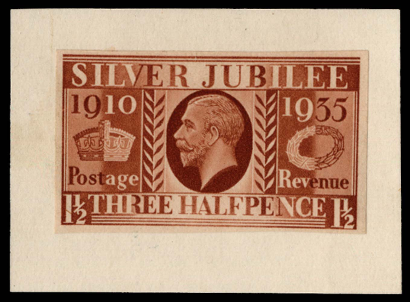 GB 1934  SG455var Proof