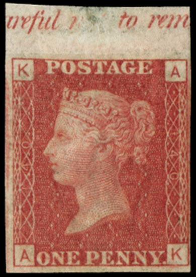 GB 1858  SG44a Pl.140 Mint