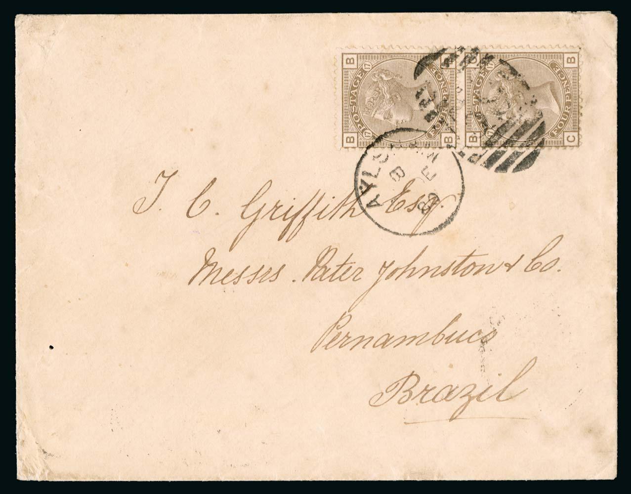 GB 1880  SG154 Cover