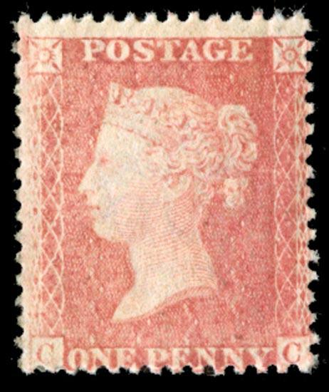 GB 1863  SG39var Pl.53 Mint