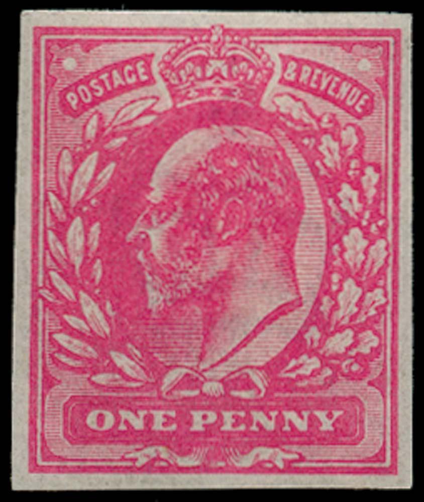 GB 1906  SG219var Mint