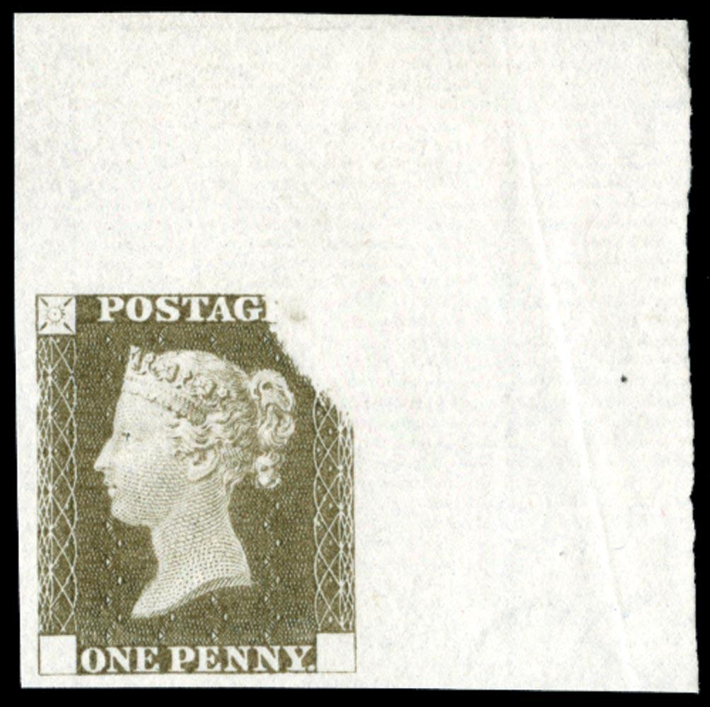 GB 1841  SGDP20(3)d Mint
