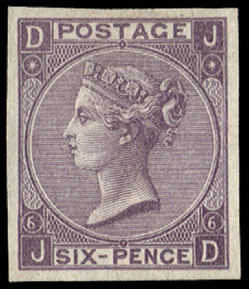 GB 1867  SG97var Mint