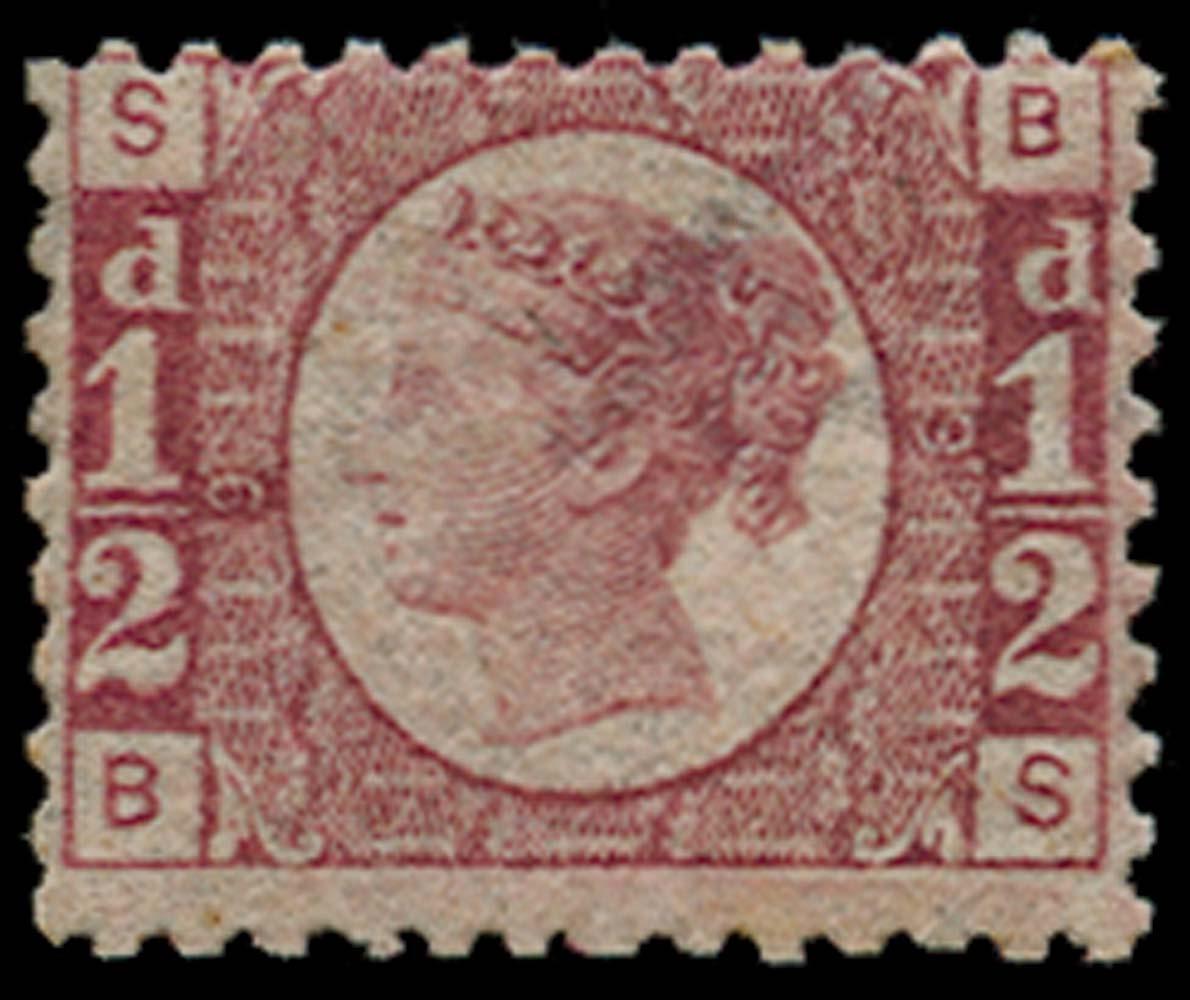 GB 1870  SG49 Pl.9 Mint