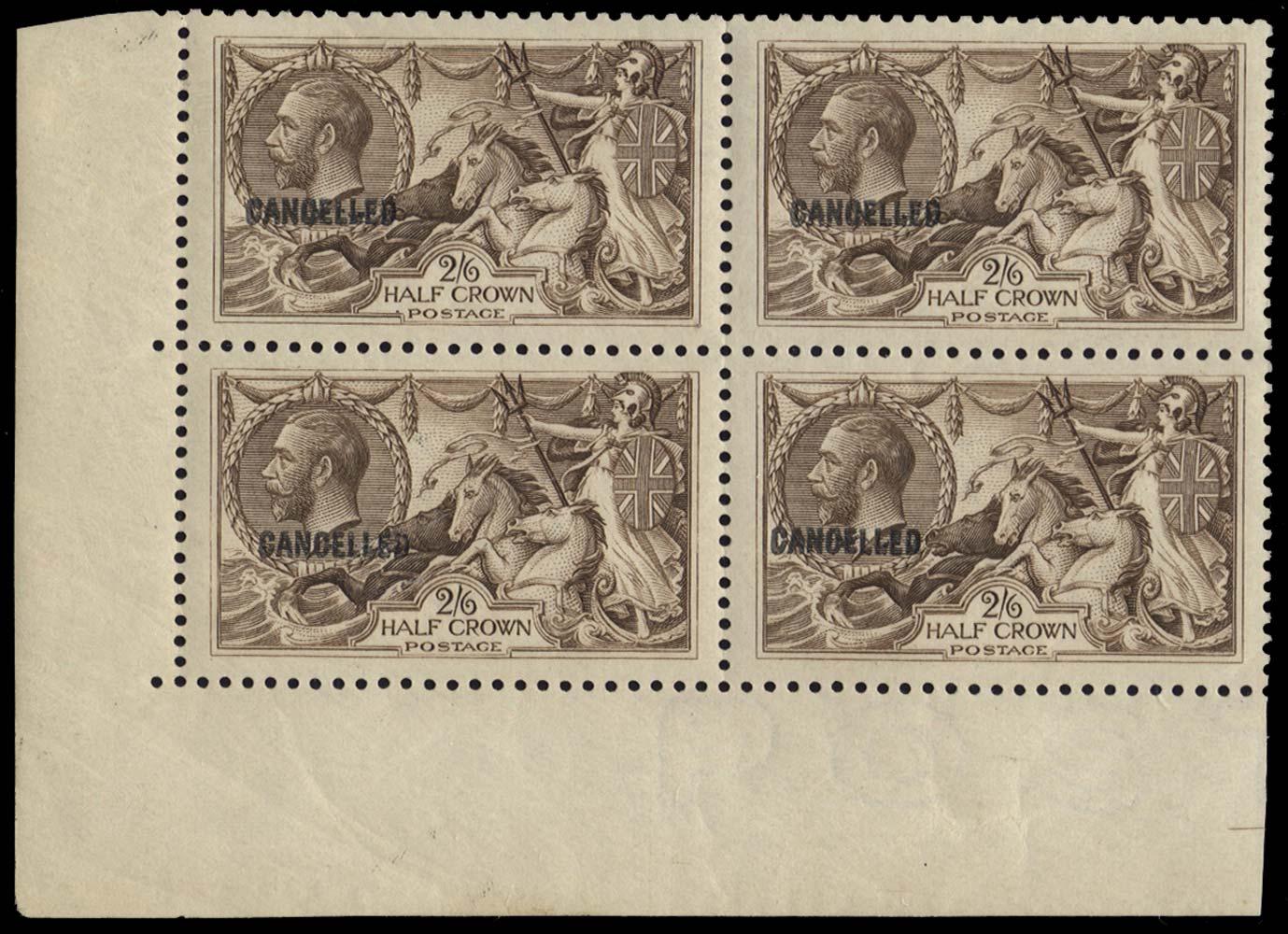 GB 1918  SG414var Specimen