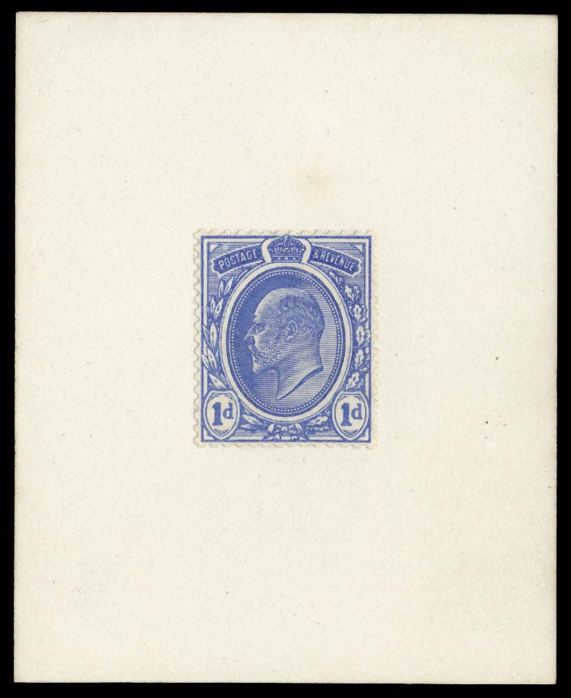 GB 1902  SG219var Essay