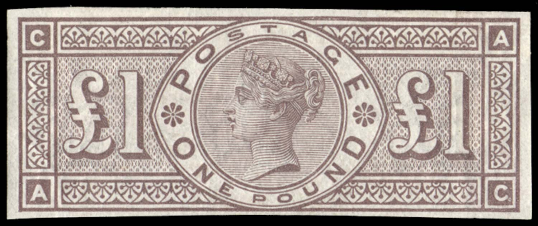 GB 1884  SG185var Mint