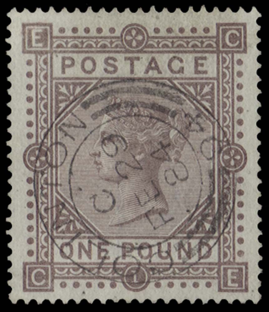 GB 1882  SG136 Pl.1 Used