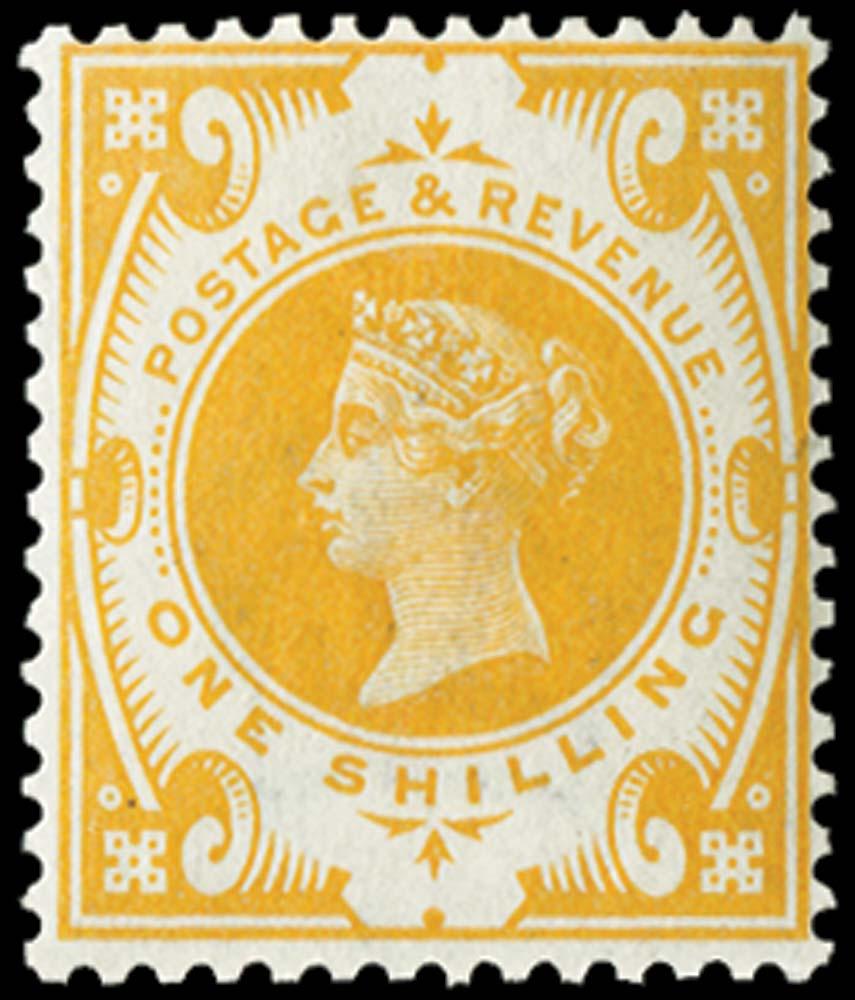 GB 1899  SG211var Mint