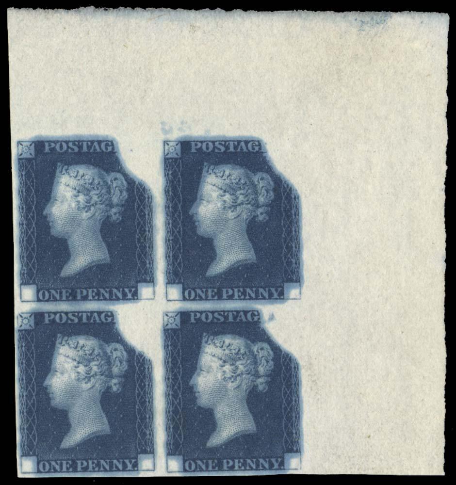 GB 1840  SGDP20(2)b Mint