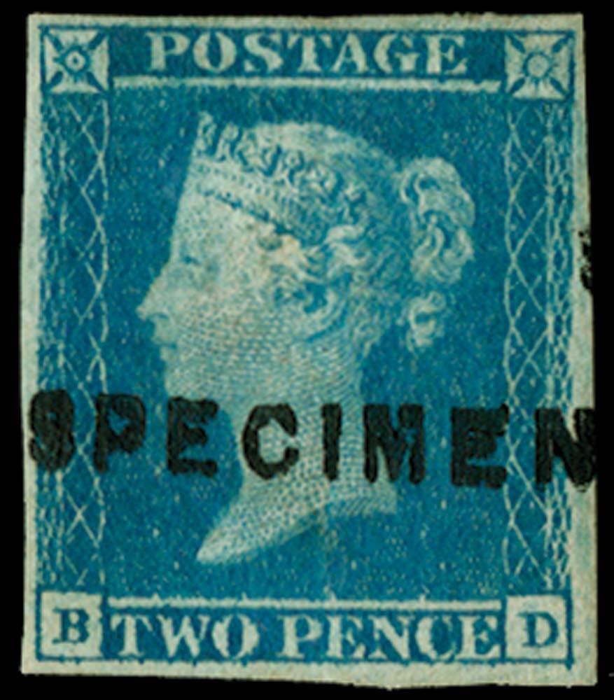GB 1841  SG14s Pl.3 Specimen
