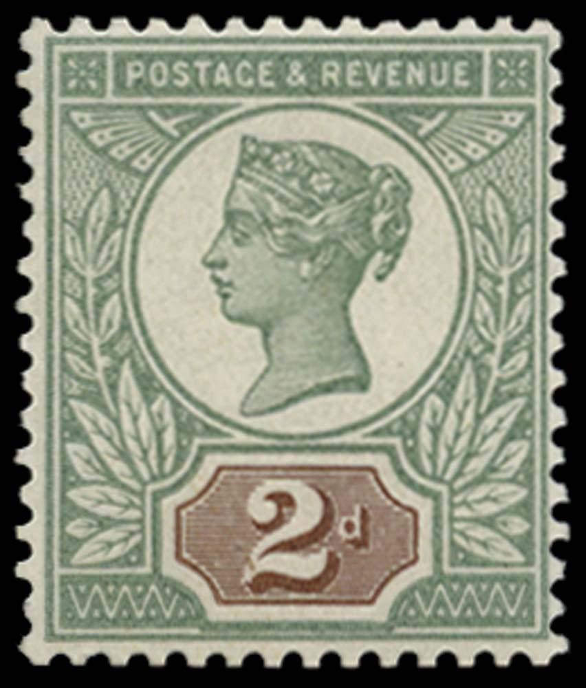 GB 1899  SG199var Mint