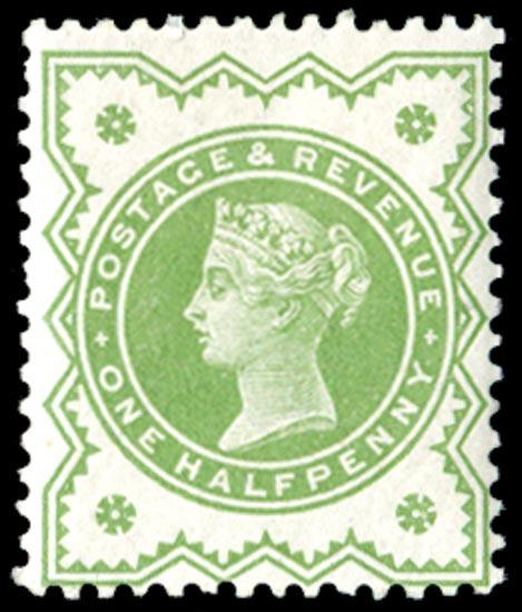 GB 1900  SG213var Mint