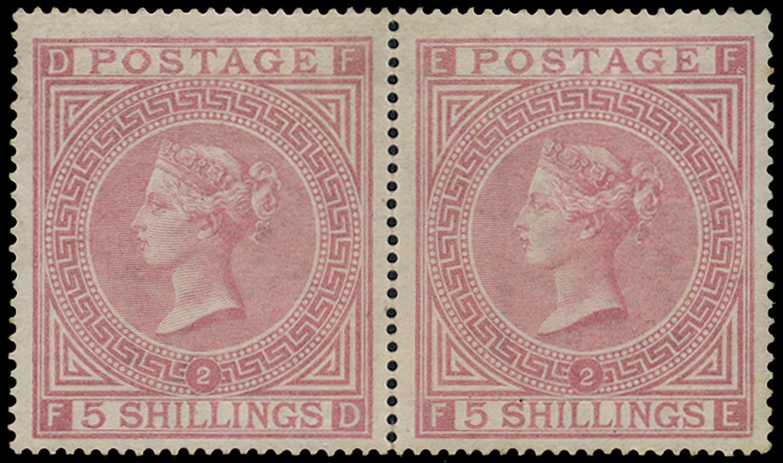 GB 1874  SG127 Pl.2 Mint