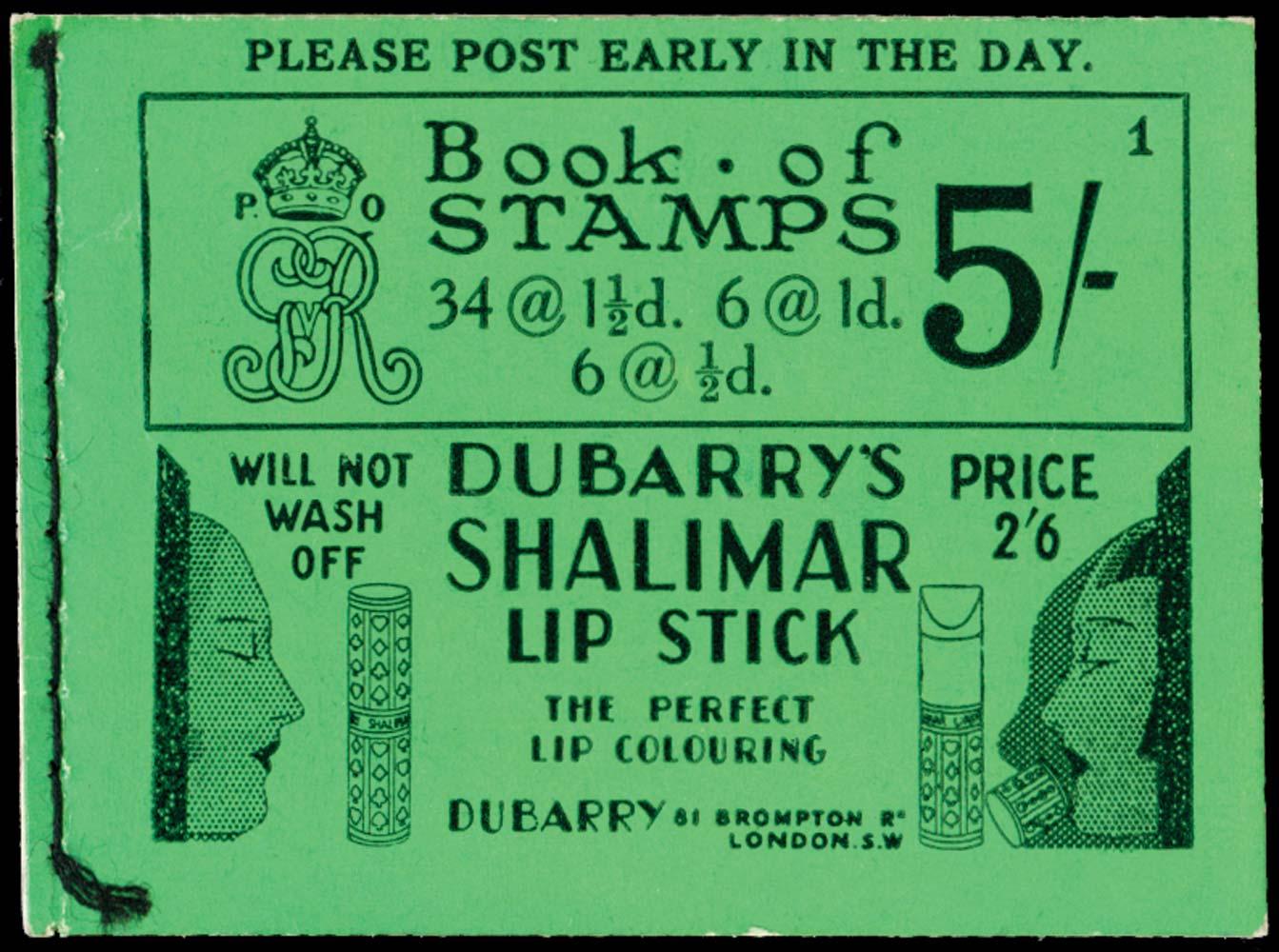 GB 1931  SGBB33 Booklet