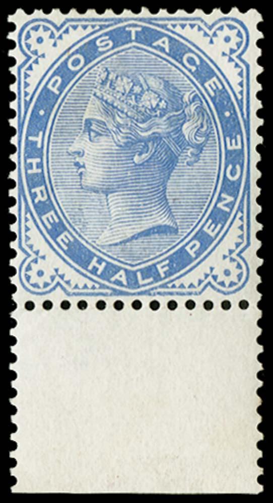 GB 1880  SG167var Mint
