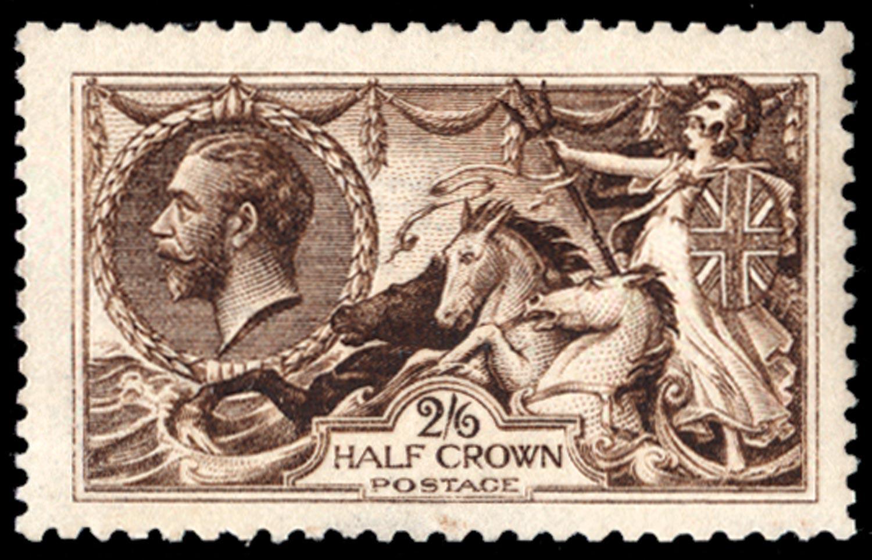 GB 1915  SG405var Mint