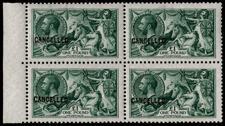 GB 1913  SG403var Specimen