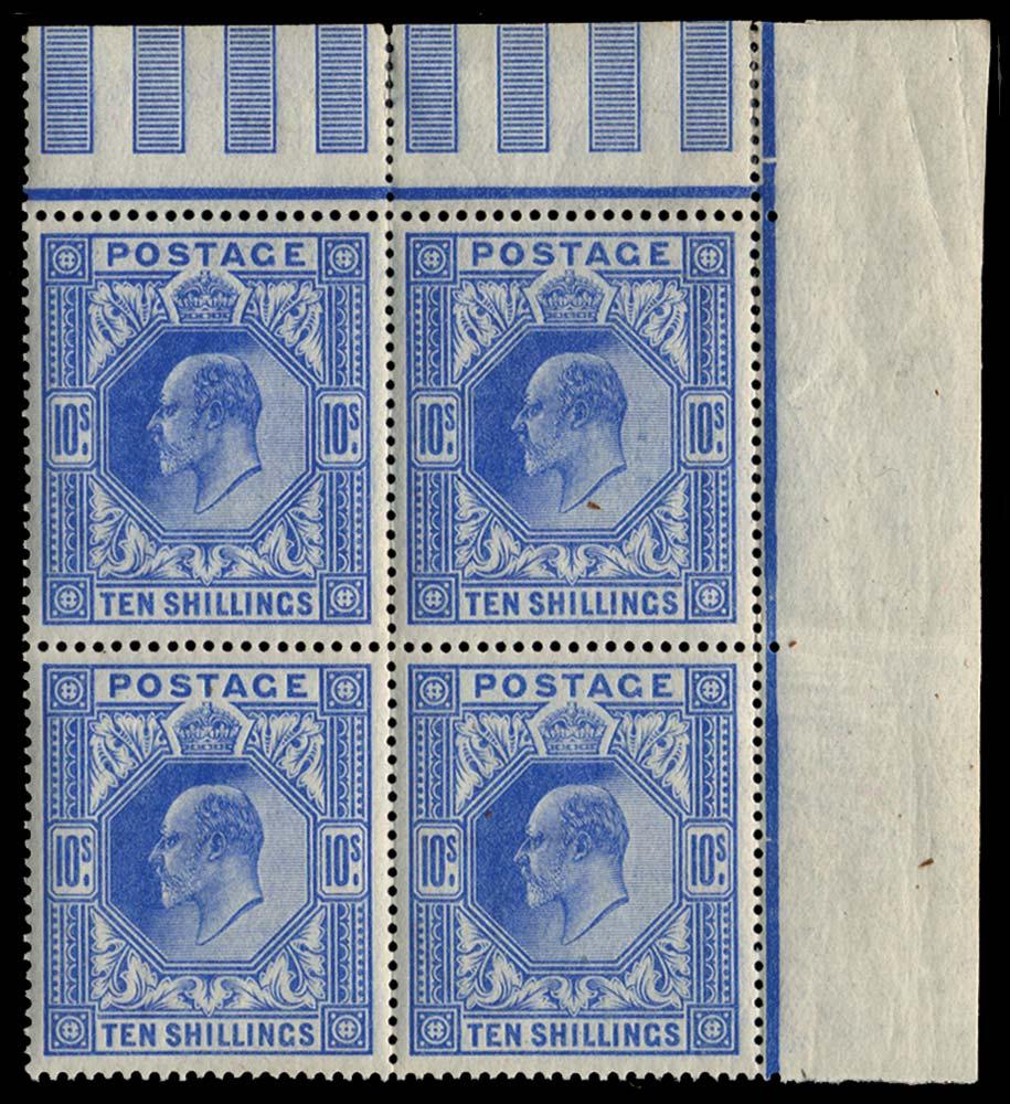 GB 1902  SG265 Mint