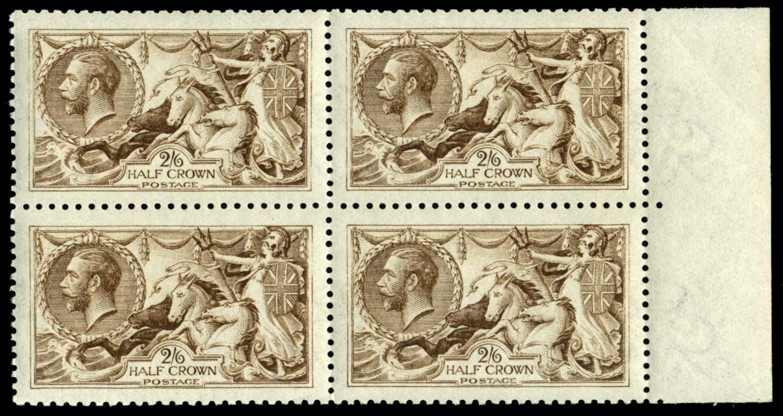 GB 1915  SG406wj Mint Wmk. Reversed