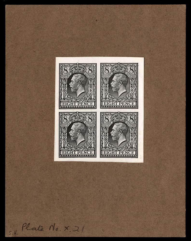 GB 1913  SG390var Mint