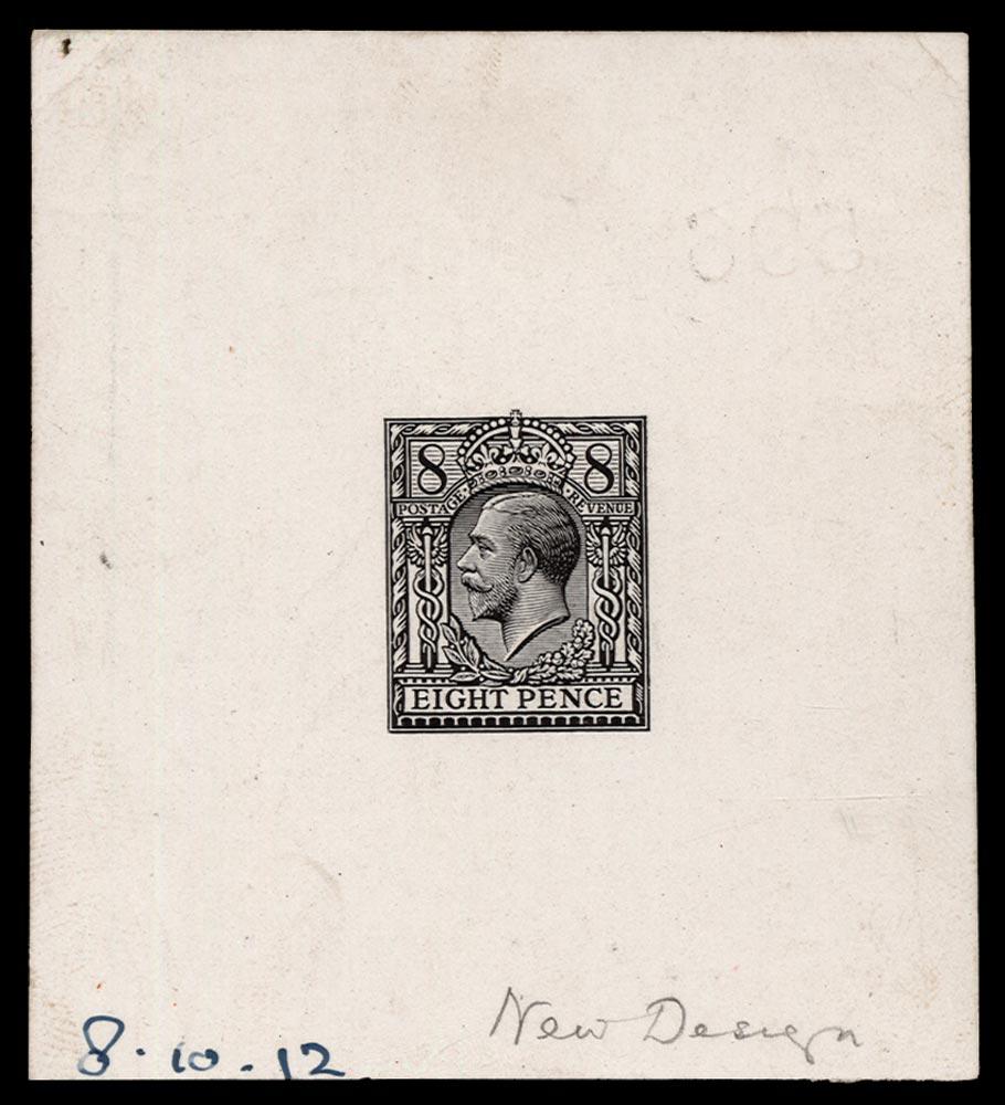 GB 1912  SG390var Mint
