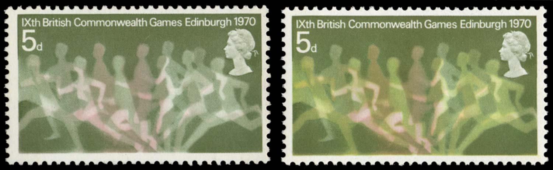 GB 1970  SG832a Mint
