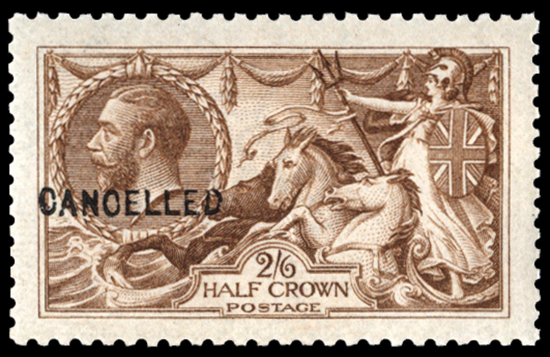 GB 1915  SG406var Specimen
